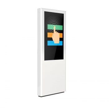 Totem multimediale outdoor touch NoLimit 46