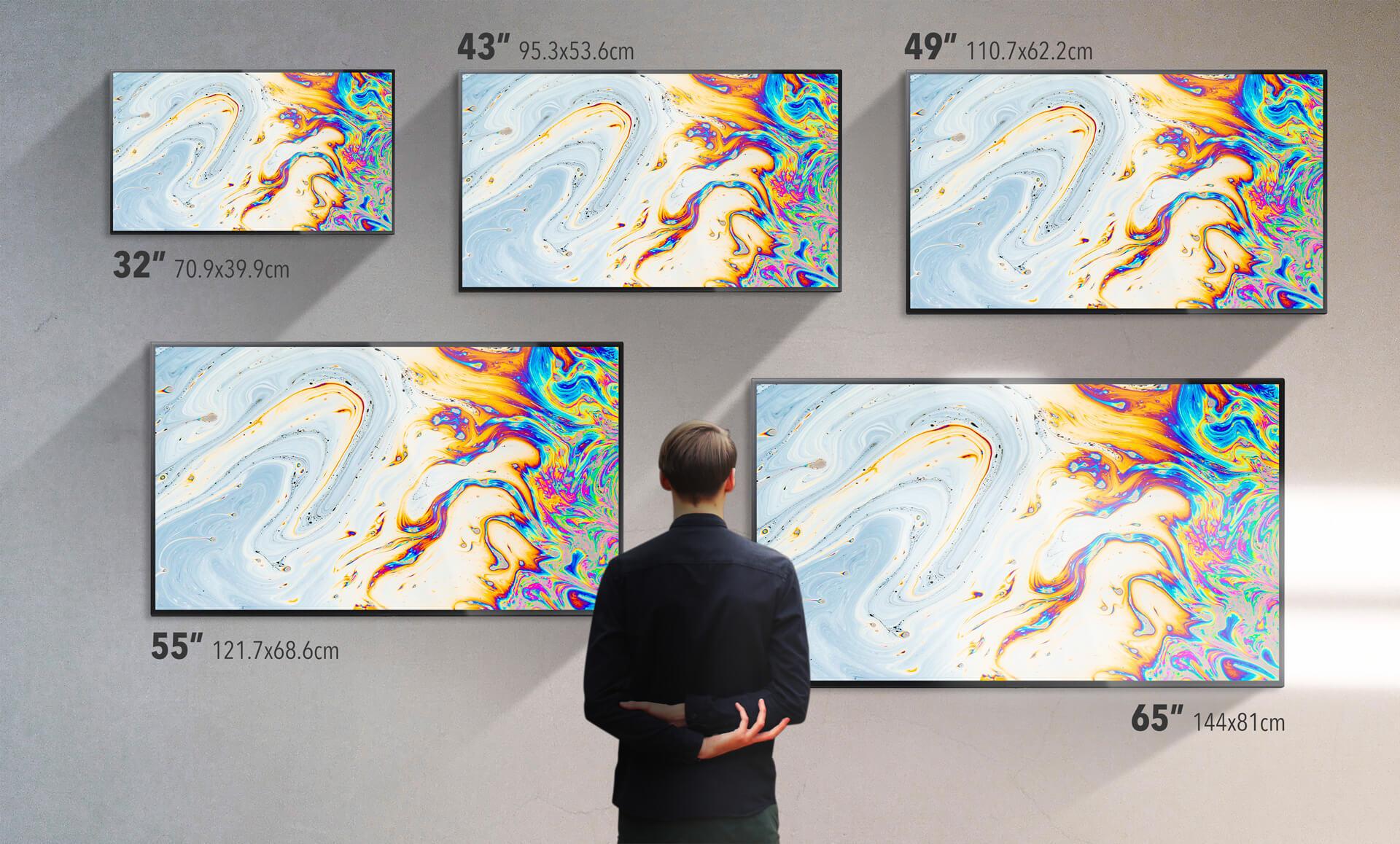 dimensioni dei monitor